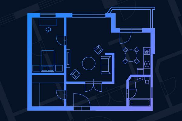 How To Draw A Floorplan Gliffy